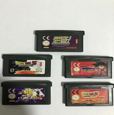 Dragon Ball Z / GT Adventure Cartridge Card For Game Boy Advance GBA SP NDS NDSL