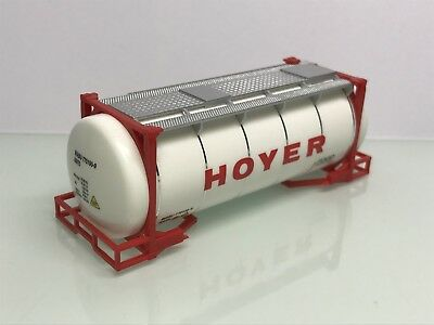 Herpa Hoyer 20ft. Swap Tank Container weiß (Mo6507)