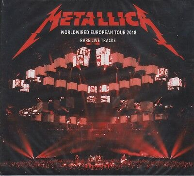"Metallica "" Worldwired European Tour 2018, 2 Cd Digipack """