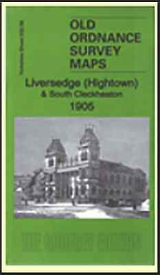 OLD ORDNANCE SURVEY MAP Liversedge (Hightown) & South Cleckheaton 1905