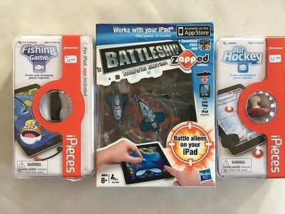 iPieces Fishing Game, air hocky, BATTLESHIP FOR IPAD