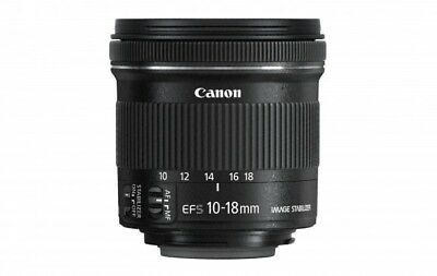 CANON EF-S 10-18mm f/4.5-5.6 IS STM Kamera Lens NEU