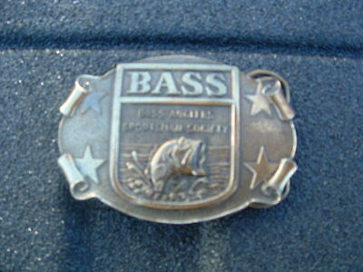 Large Mouth Bass Belt Buckle Made In Usa By The Great American Chicago Belt Co