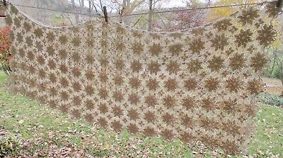 Vintage Hand Crocheted Tablecloth