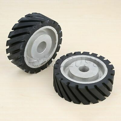 1PC Rubber Polishing Contact Wheel Abrasive Belt Buffing Grinding Rotary Tool