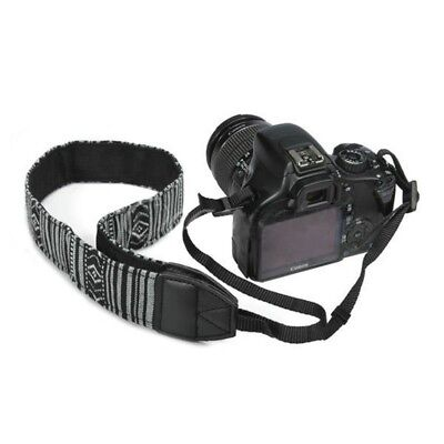 Vintage Camera Neck Strap Belt Shoulder For SLR DSLR Nikon Canon Sony Panasonic