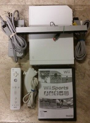 Nintendo Wii Sports Pack White Console (NTSC)  FAST FREE SHIPPING (Discounted)