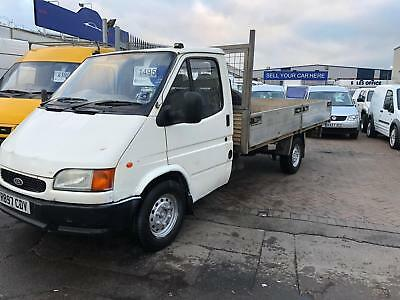 R Reg Ford Transit 2.5 Diesel Smiley Flatbed Lovely Engine And Tidy For The Year