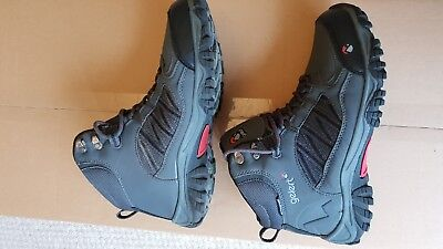 GELERT HORIZON WATERPROOF Mid Mens Walking Boots, Nearly New, Charcoal, UK 7
