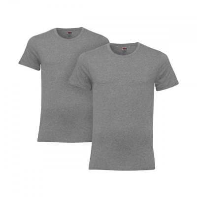 6b0e19c526a Levi s 2 Pack 200SF Crew Neck Relaxed T Shirts Large BNWT Middle Grey  Melange