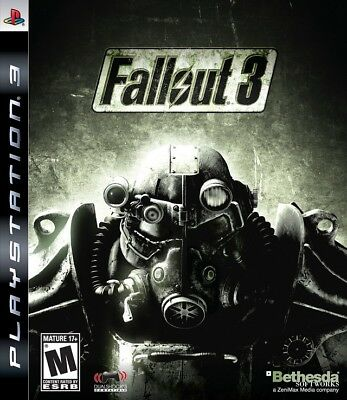 Fallout 3 - Playstation 3 PS3 video game DISC ONLY