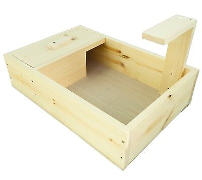 Tortoise Table House With Lamp Holder - Comes Fully Assembled
