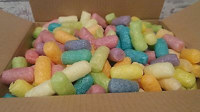 Eco Friendly corn starch coloured  packing nuggets   12 x 9 x 6 box full