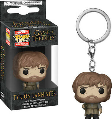 Game Of Thrones - S9 - Tyrion Lannister - Funko Pop! Keychain: (2018, Toy NUEVO)