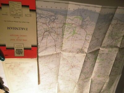Fakenham & North Norfolk:vintage Ordnance Map 1954-62-Closing Railways-Airfields