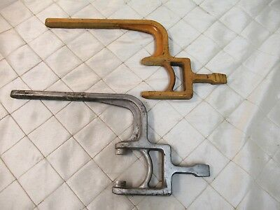 Wood Foundry Casting Mold Pattern Fishing Tool Steampunk Industrial Art