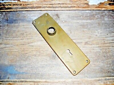 Vtg Yale Heavy Cast Brass Door Knob Back Plate Steampunk Arts/crafts Pinterest