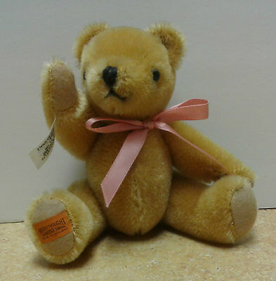 "Teddy Bear  Merrythought - Vintage -  6""  Fully Jointed,  Made In England"