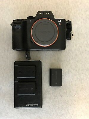 USED  - Sony Alpha a7R II 42.4MP Digital Camera - 3 Batteries Included