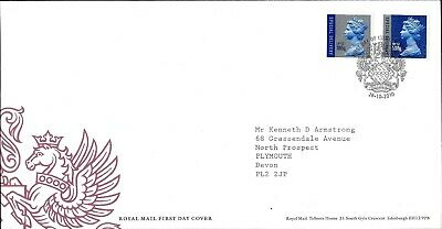 Gb Fdc Definitives First Day Covers 1999 Onwards Bureau Fdi Cds Handstamps