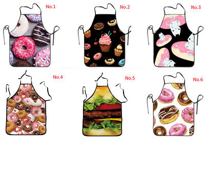 Cute Candy Donut Dinner Party BBQ Cosplay Family Day Kitchen Cooking Apron