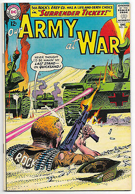 Our Army At War #149 (Dec 1964, DC Comics) Sgt Rock Cover & Easy Company Story