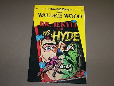 The 3D Zone Presents Wally Wood in Dr Jekyll and Mr Hyde