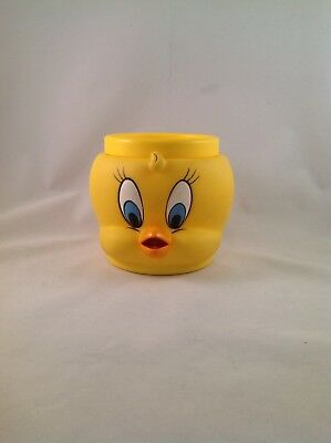 Looney Tunes Tweety Bird 3D Cup Mug Coffee Tea Plastic 1992 Warner Bros.