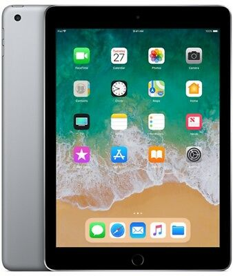 "Apple iPad 2018 Wi-Fi 32GB 9.7"" MR7F2 iOS 11 NEU OVP- Space Grau"