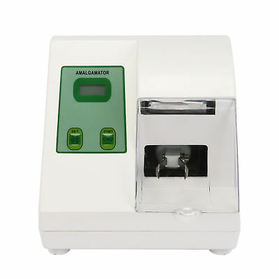 UK 220V Digital Dental Amalgamator Machine Amalgam Mixing Stirrer Blending Mixer