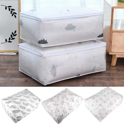 Foldable Storage Bag Clothes Blanket Quilt Closet Sweater Organizer Box Pouch G