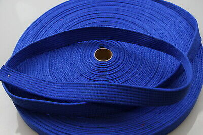 Polyester Brushed Soft Webbing 20mm 10mts Ribbed dog horse leads