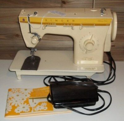 SINGER FASHION MATE Sewing Machine Model 40 WPedal And Instruction Interesting Singer 360 Sewing Machine