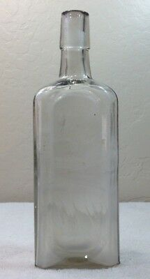 Antique Clear McElree's Wine of Cardui from Chattanooga Medicine Co. Bottle