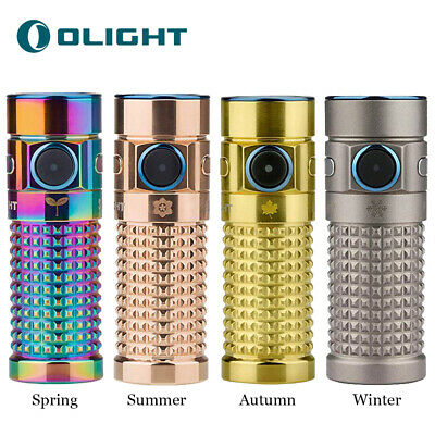 OLIGHT S1R II 1000 Lumens Titanium Rechargeable EDC Flashlight-Limited Edition
