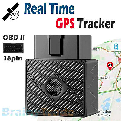 OBD II GPS Tracker Real Time Vehicle Tracking Device for Car Truck Locator OBD2