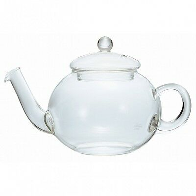 HARIO Jumping Teapot Danube 800ml Heat-Resistant Glass TDG-4 Free Shipping Japan