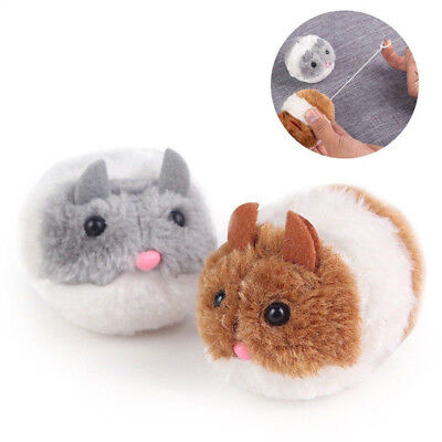 Pet Funny Plush Fur Mouse Moving Shake Cat Toy Little Interactive Kitten Toys