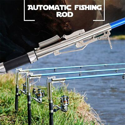 Lightweight Stainless Steel Automatic Fishing Rod Sea River Lake Fishing Pole CH