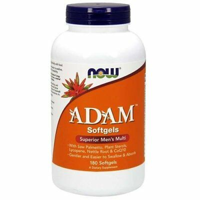 NOW FOODS, ADAM Superior Herren Multi-Vitamin, 180 Weichkapseln EXTRAPREIS !!!