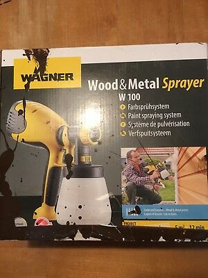 Wagner W 100 Electric Paint Sprayer for Wood & Metal paint - interior and...