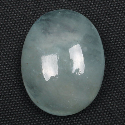 Natural AQUAMARINE 19x15 mm Oval Cabochon Gemstone 17 Cts For Jewellery s-20574