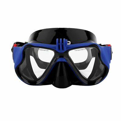 Underwater Camera Plain Diving Mask Scuba Snorkel Swimming Goggles for GoPro CH