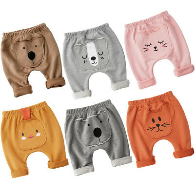 Newborn Kids Harem Pants Newborn Baby Boy Girls Trousers Leggings Size Age 0-2Y