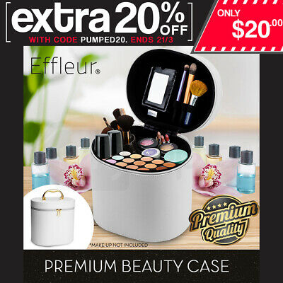 Beauty Makeup Bag Cosmetics Case Toiletry Travel Organiser Soft Holder Make Up
