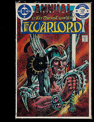 Enter the Lost World of the Warlord #1 Annual (DC) 1st Print Mike Grell