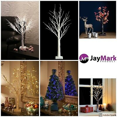 Jaymark Products Easter Pre Lit Battery Operated 2ft /70cmTable Top Twig Trees