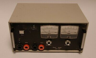 Power Supply 0-300VDC  - 250mA  SPSN5 Nr.3 Power Supply 300-200