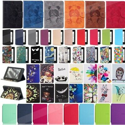 For Amazon Kindle Paperwhite 10th Generation 2018 Smart Leather Flip Stand Case