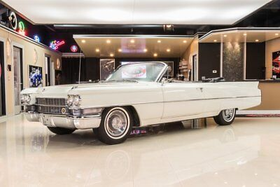 1963 Cadillac Series 62 Convertible AACA National 1st Prize Winner! Cadillac 390ci V8, Automatic, Disc, PB, PS, A/C
